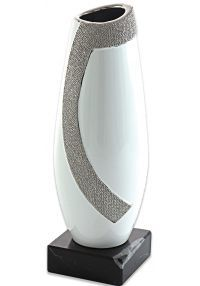 Trofeo jarrón labrado ondas