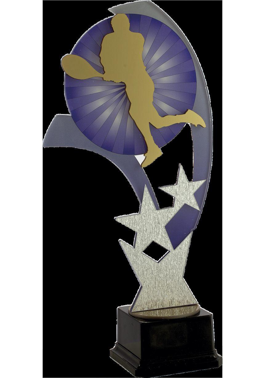 Trofeo detalle estrella metacrilato aplique