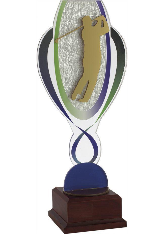 Trofeo copa metacrilato aplique