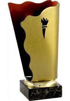 Trofeo antorcha metal Thumb