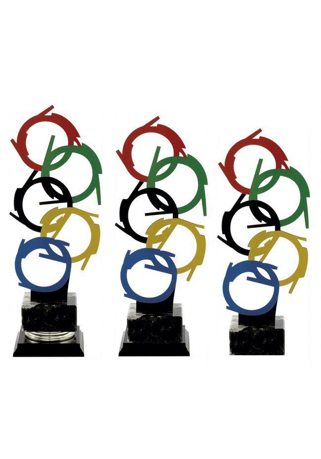 Trofeo metal juegos olímpicos