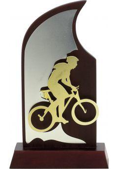 Trofeo en madera para ciclismo Thumb