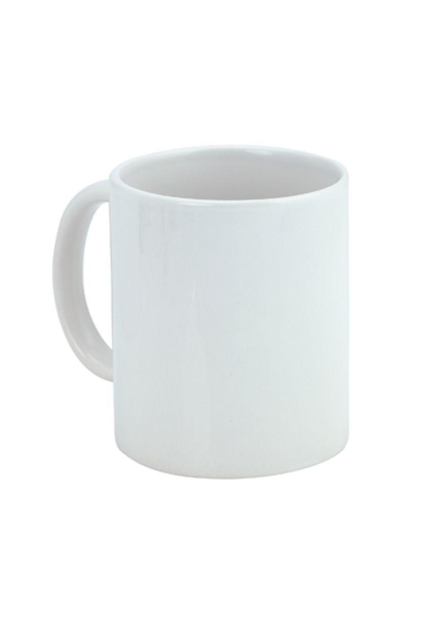 Farbdruck weißen Tasse