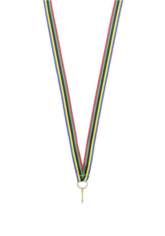 Cinta para medallas de 10mm en varios colores