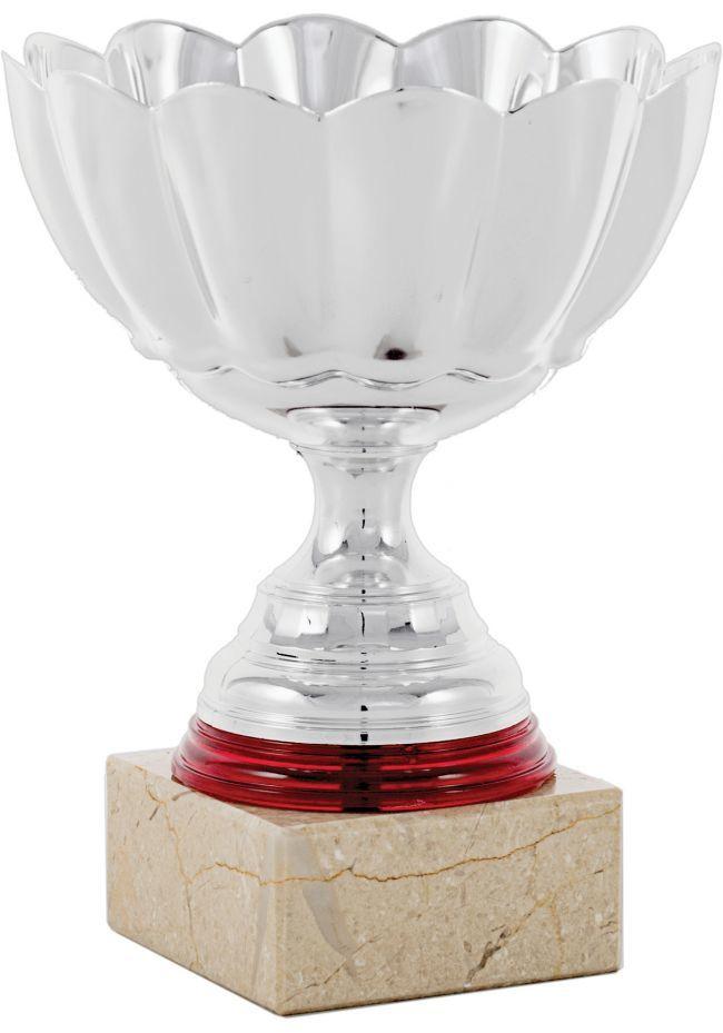 Trofeo copa mini flor detalle rojo