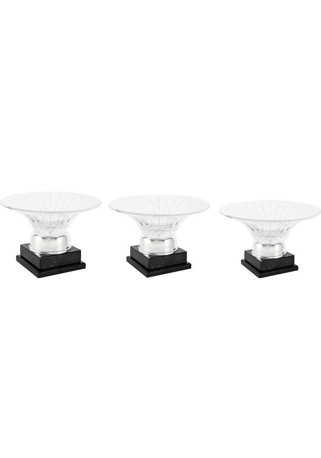Trofeo ensaladera cristal
