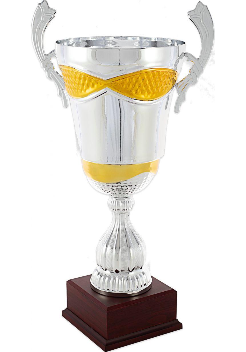 Trofeo copa plata/dorado asas