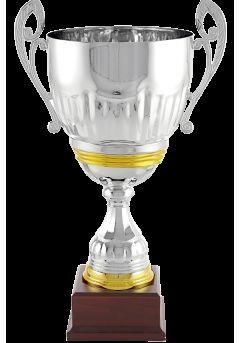 Trofeo copa cáliz bicolor plata-dorado