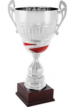 Trofeo copa plata/rojo asas