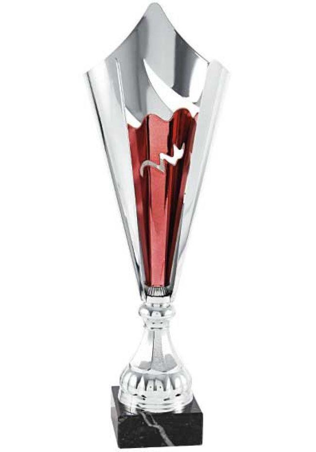 Trofeo copa cono bicolor