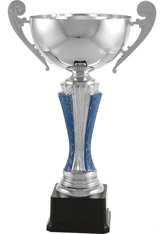 Trofeo copa plata/azul