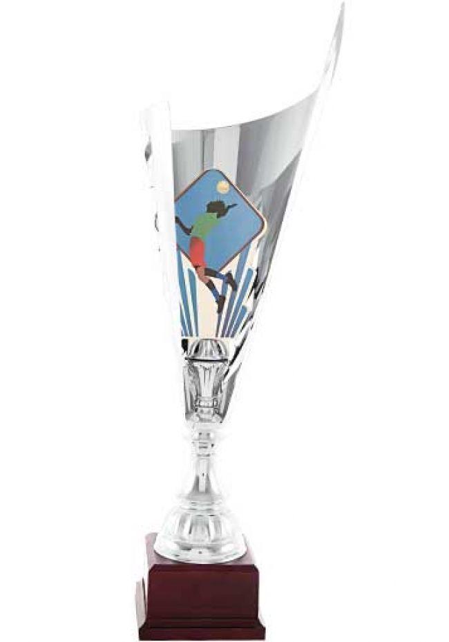 Trofeo copa corte triángulo