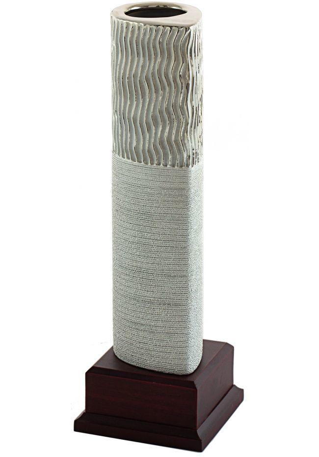 Trofeo jarrón elegante plata