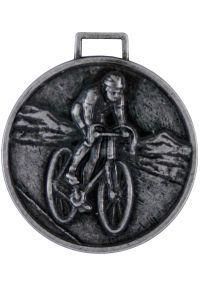 Radfahren Medaille 50 mm