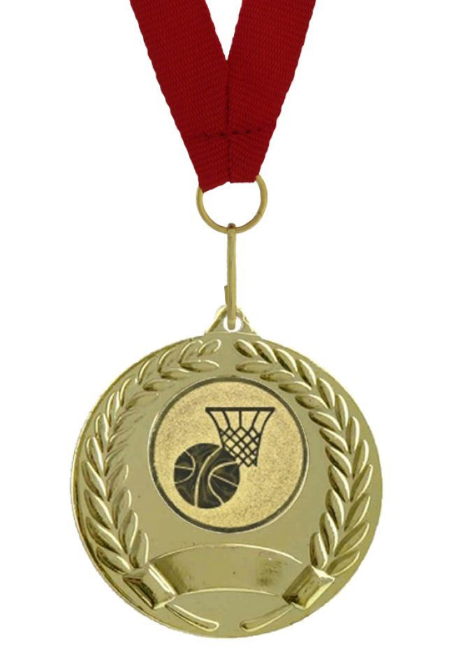 Medalla Deportiva Completa Cinta, Disco y Grabado