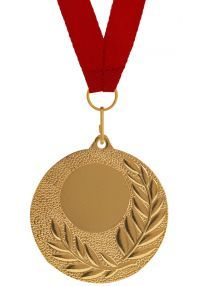 Complete Sports Medal Ribbon, Disco and Engraving