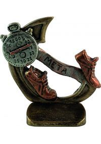 Sports trophies resin running-cross