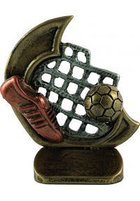 Sports trophies resin football