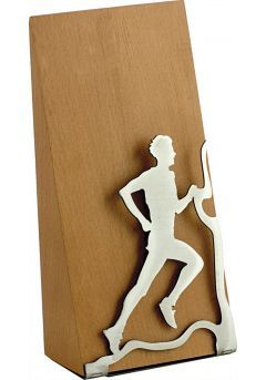 Trofeo Cross y Runing en madera y metal Thumb