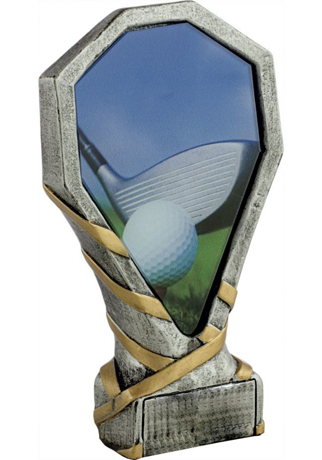 Trofeo de resina deportivo de golf