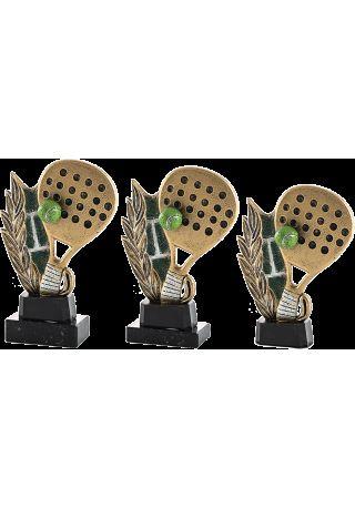 Trofeo de resina deportivo de Pádel