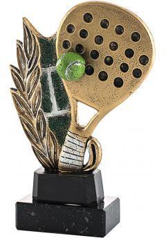Trofeo de resina deportivo de Pádel-1