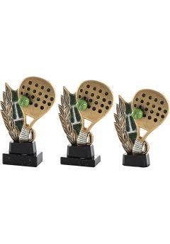Trofeo de resina deportivo de Pádel Thumb