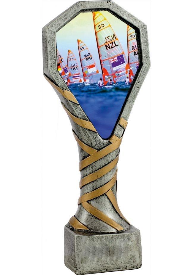 Trofeo de resina deportivo de vela - Náutico