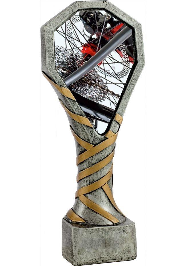 Trofeo de resina deportivo de Ciclismo