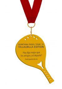 Medalla de metacrilato Padel