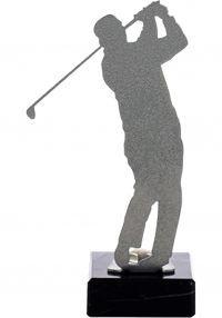 Trofeo de Golf realizado en metal
