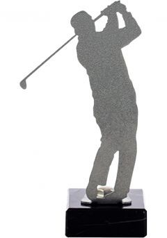 Golf Trophy en métal Thumb