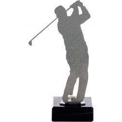 Golf Trophy feita de metal