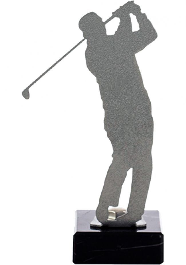 Golf Trophy di metallo