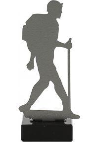 Wandern Trophy aus Metall