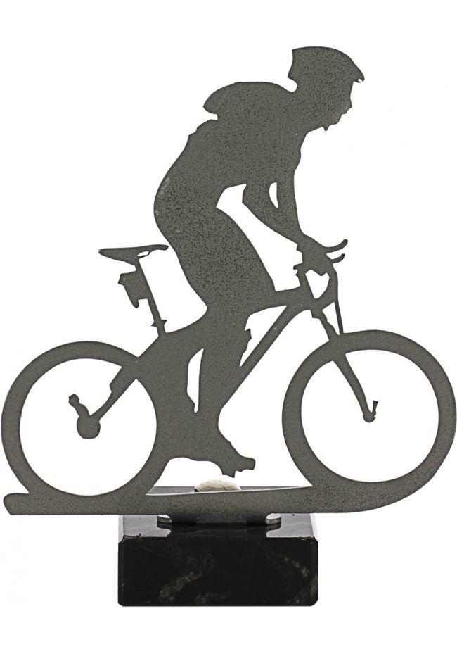 Trofeo de Mountain Bike realizado en metal