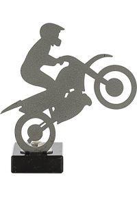 Motorrad-Trophy aus Metall