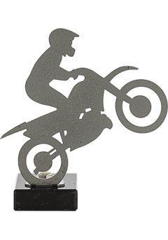 Trofeo de Motos realizado en metal