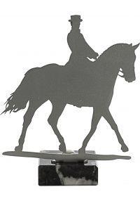 Trofeo de Caballos realizado en metal