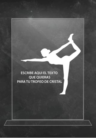 trofeo cristal yoga
