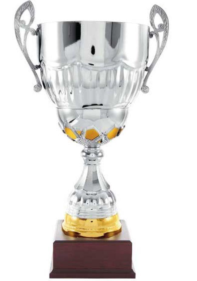 Trofeo copa trapecio dorado