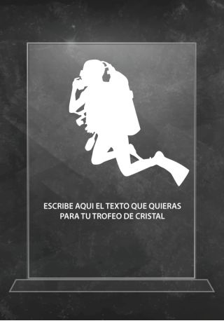 trofeo cristal p06227su