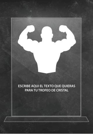 trofeo cristal p06227g2