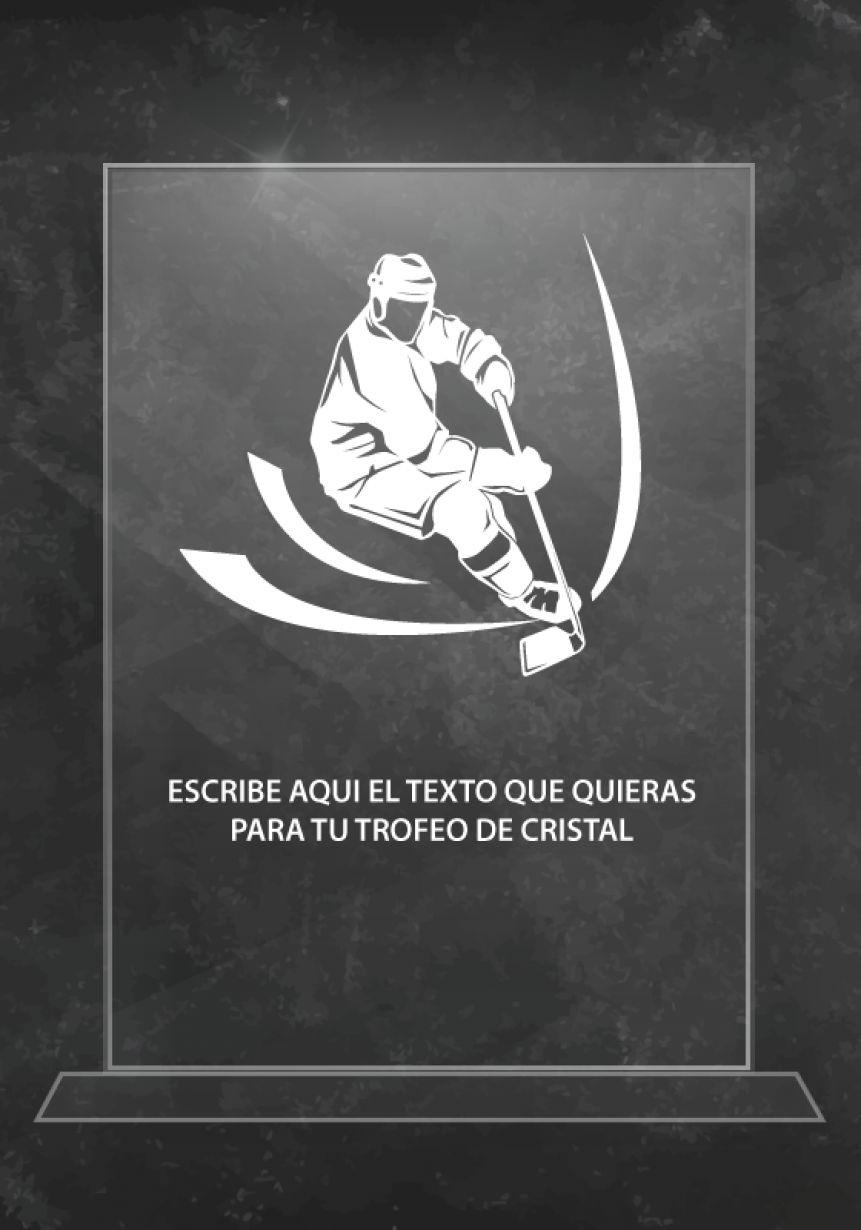 Trofeo de cristal hockey