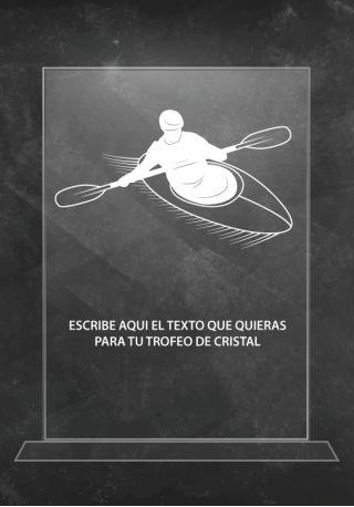 trofeo cristal p06227ra