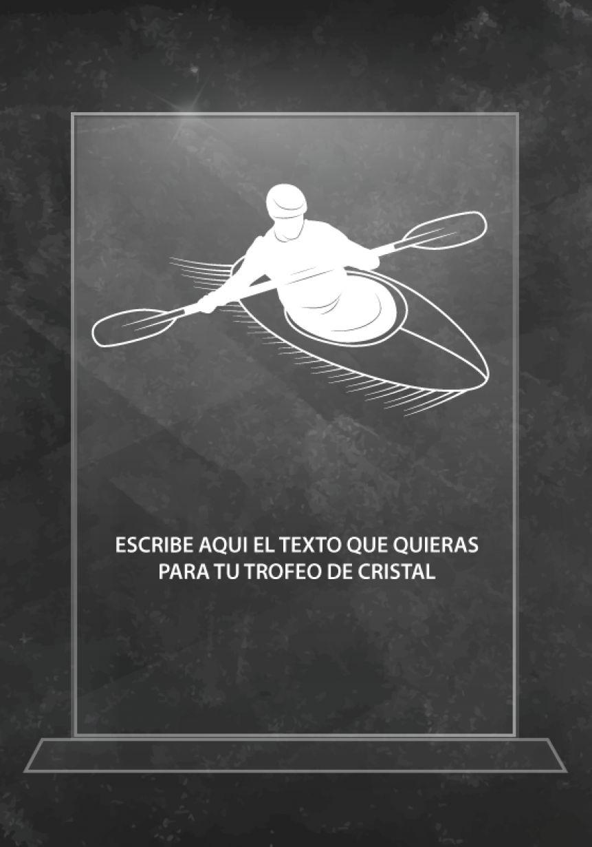Kristalltrophäe Rafting