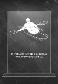 Trofeo de cristal rafting