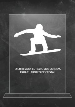trofeo cristal p06227sa