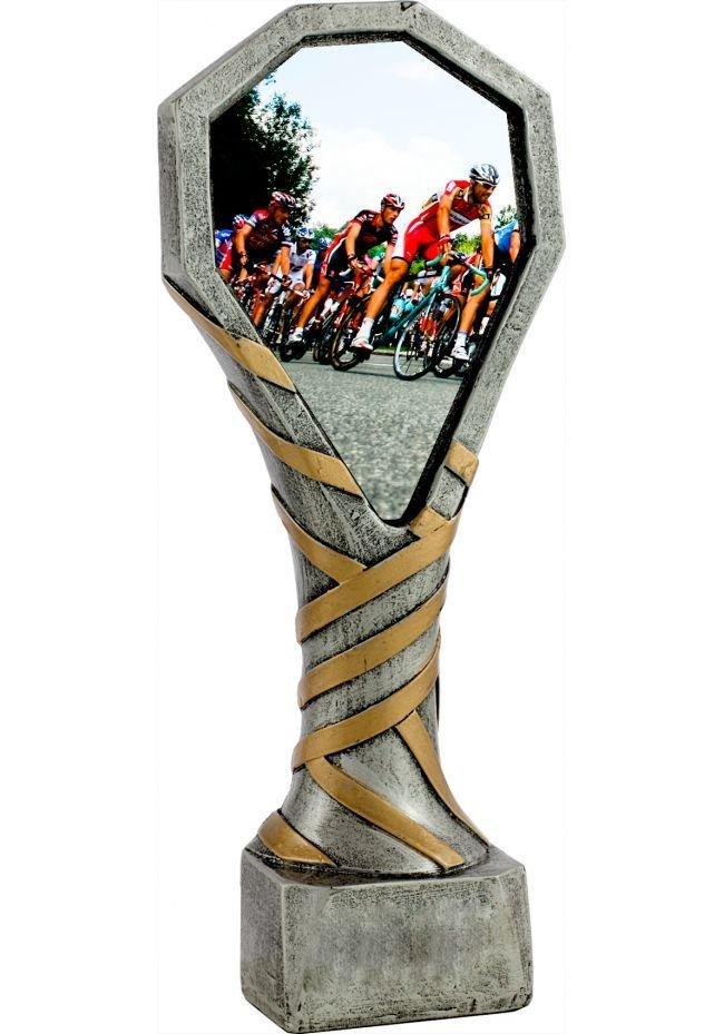 Trofeo de resina deportivo para Duatlón