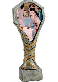 Trofeo de resina deportivo para Esgrima